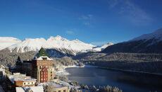 Ze zmarzniętej Polski na stoki St. Moritz