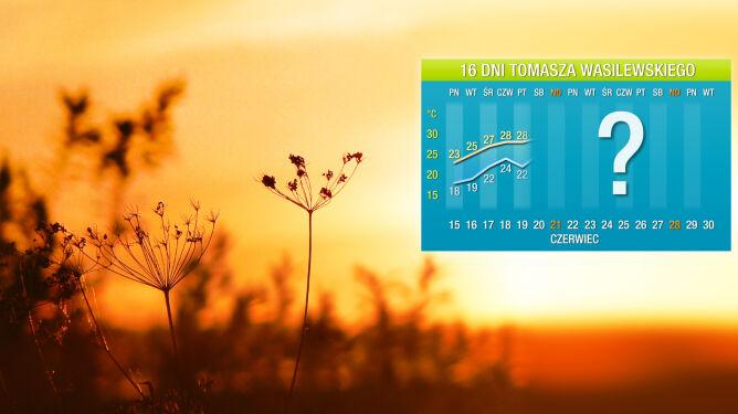 Pogoda na 16 dni: czeka nas szybki powrót upału