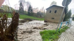 Skutki ulewy w Dusznikach-Zdroju (24klodzko.pl)