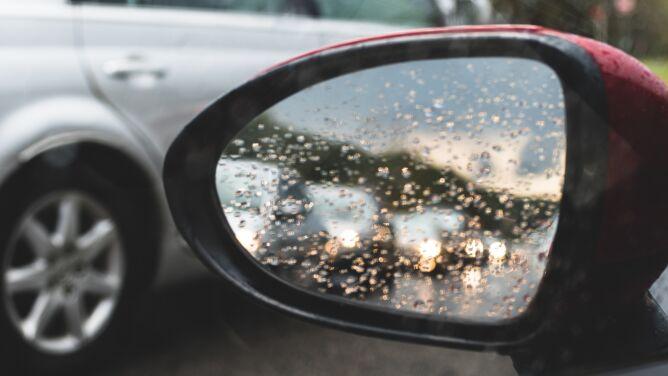 Opady deszczu mogą utrudnić jazdę