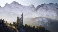 Zamek Neuschwanstein w Schwangau, znany z Bajkek Disneya, Niemcy 2015 (facebook.com/KilianSchoenbergerPhotography)