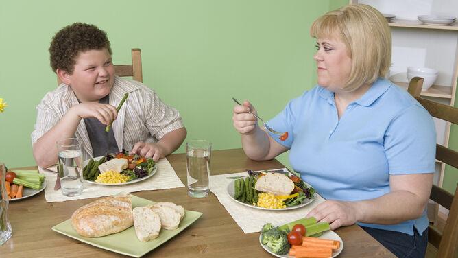 Dzieci dziedziczą otyłość i cukrzycę