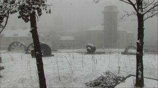 Śnieg w połowie kwietnia