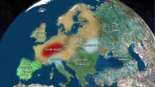Wiosna w Europie ma być mocno burzowa